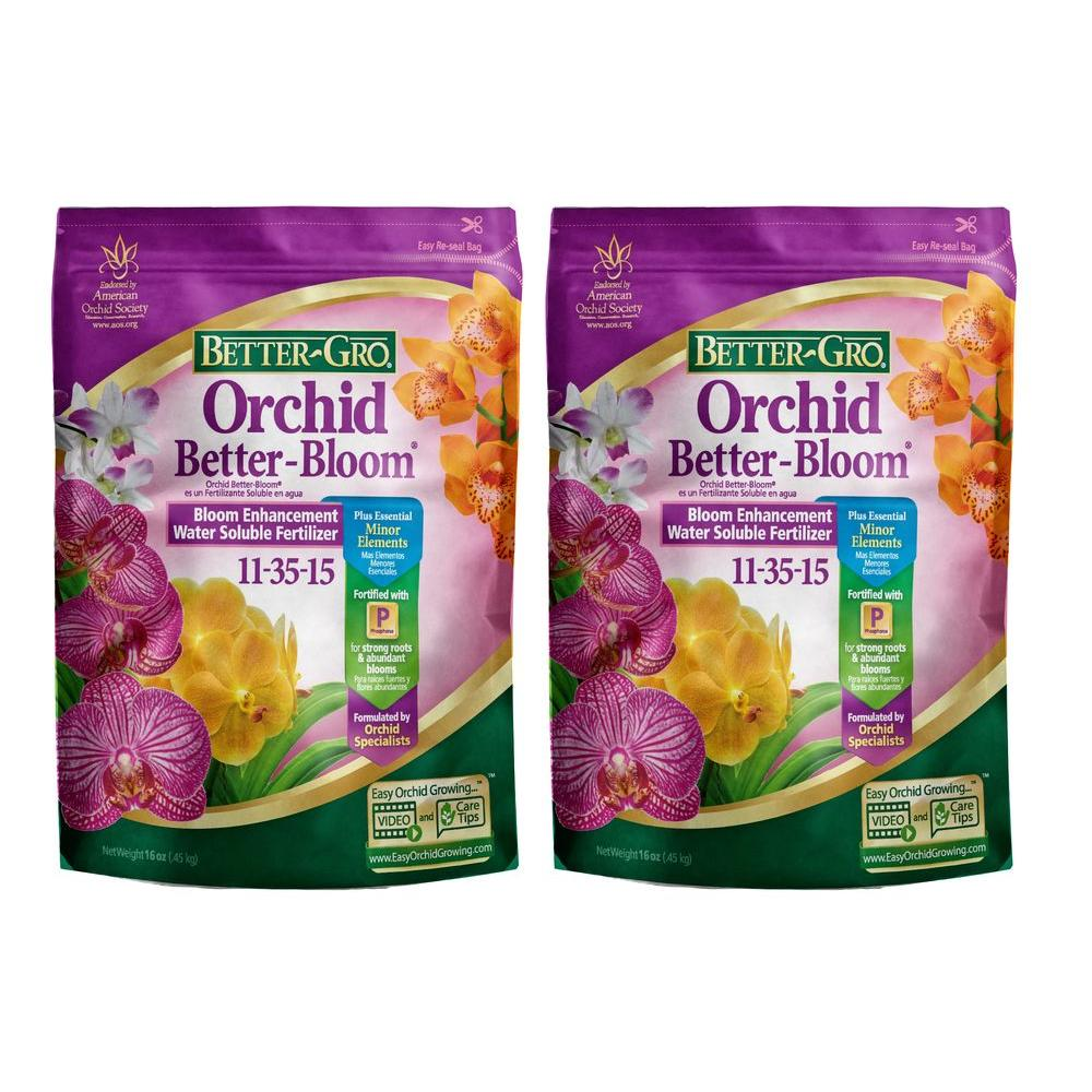 1 lb. Orchid Better-Bloom Booster Plant Food (2-Pack)