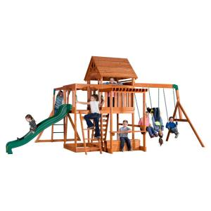 Backyard Discovery Montpelier All Cedar Playset 30211com The Home