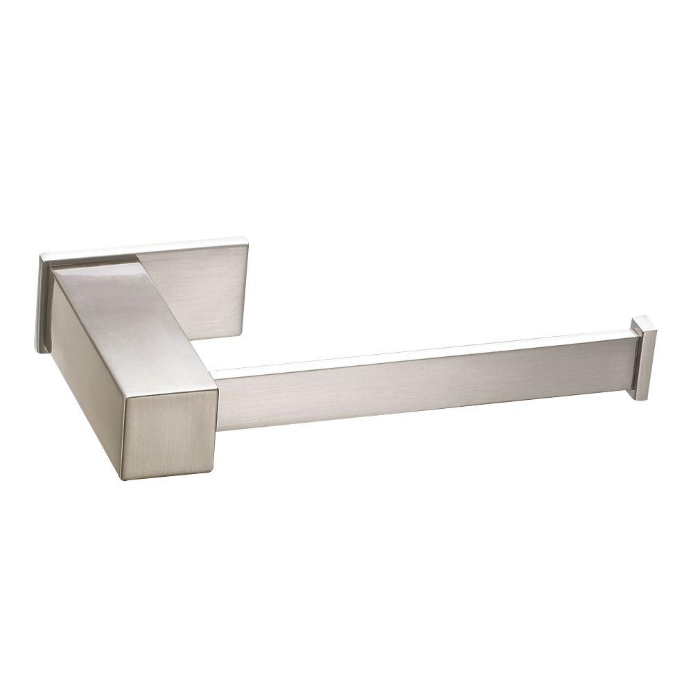 Sirius Dual Function Toilet Paper Holder or Towel Bar in Brushed