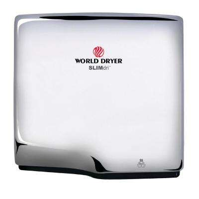SLIMdri Hand Dryer in Polished Stainless Steel