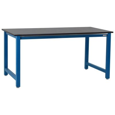 Kennedy Series 2 ft. D x 4 ft. W, 3/4 in. T Phenolic Resin Workbench Capacity 6,600 lbs.