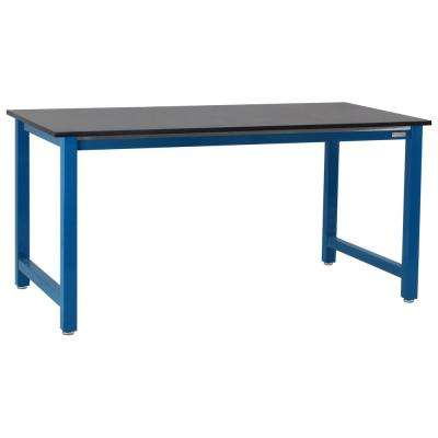 Kennedy Series 2.5 ft. D x 4 ft. W, 3/4 in. T Phenolic Resin Workbench Capacity 6,600 lbs.