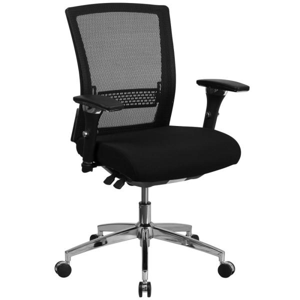 Flash Furniture Black Fabric/Mesh Office/Desk Chair GOWY858