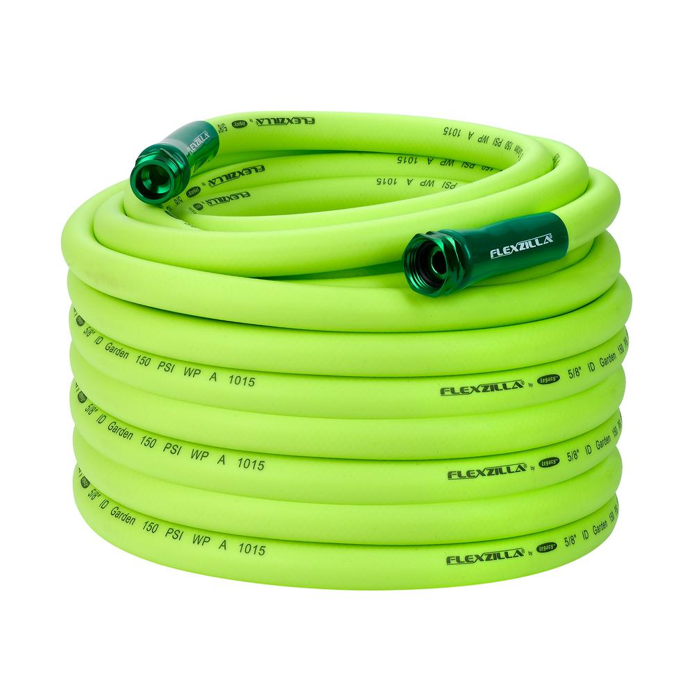 5/8 in. x 100 ft. ZillaGreen Garden Hose with 3/4 in.