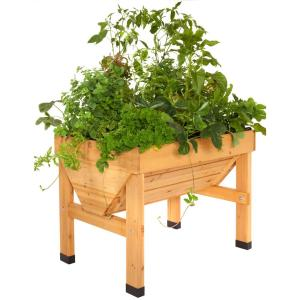 1 m Wooden Raised Bed Planter