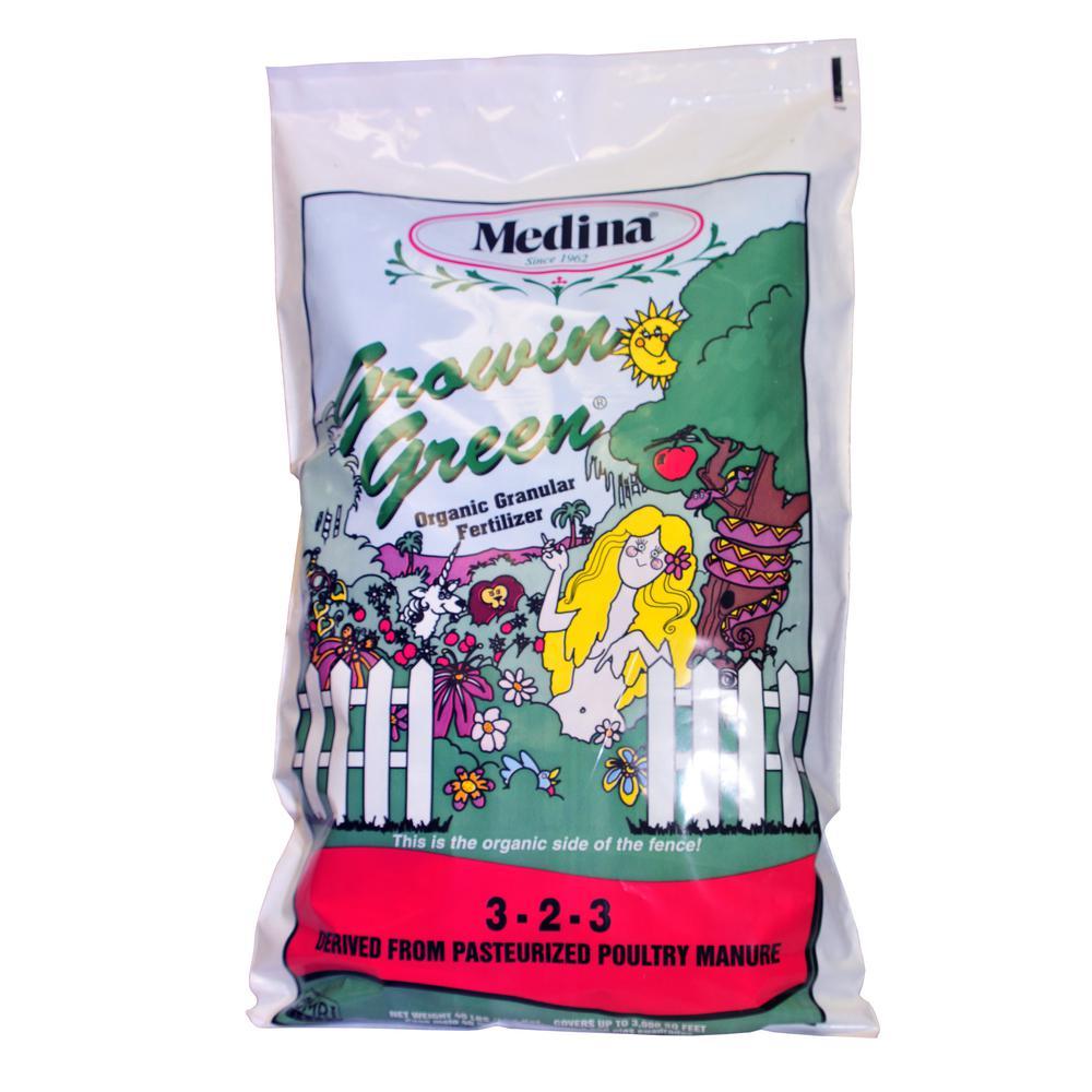 40 lbs. Growin Green Organic Fertilizer