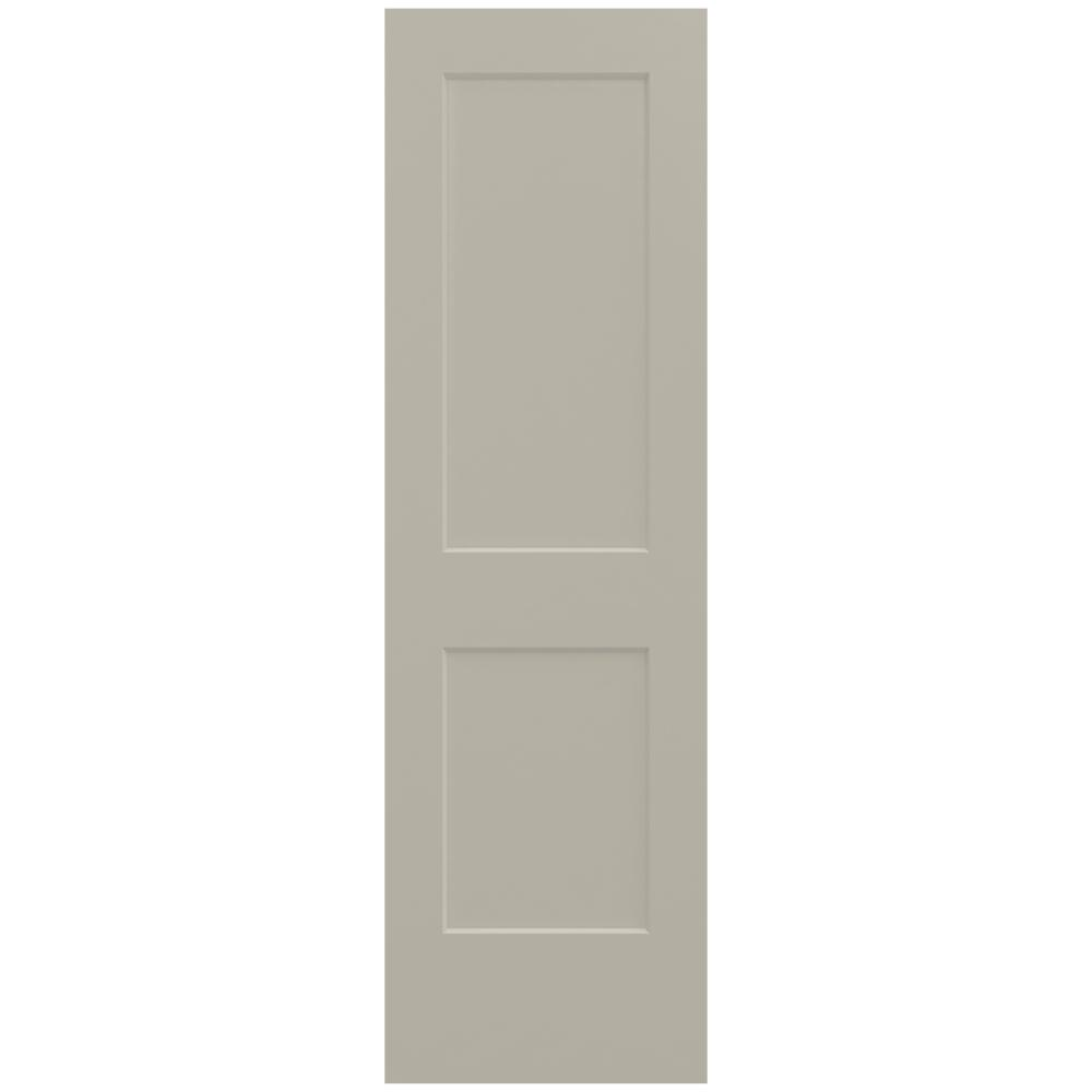 24 in. x 80 in. Monroe Desert Sand Painted Smooth Solid