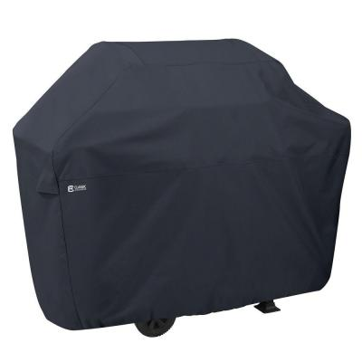 58 in. L x 26 in. W x 48 in. H Woven Polyester with Laminated Backing BBQ Grill Cover