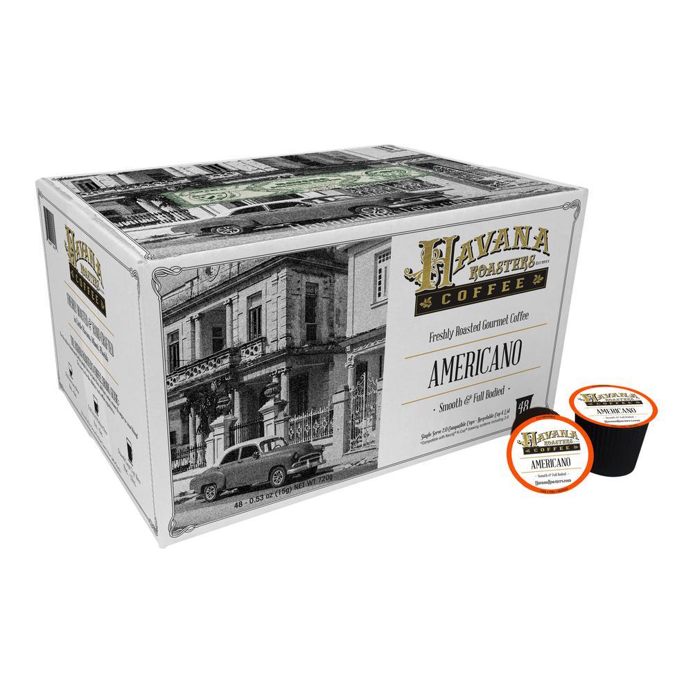 Americano 48 K-Cups Coffee (1-Box)