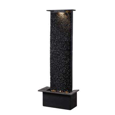 Alluvium Resin and Slate Floor Fountain