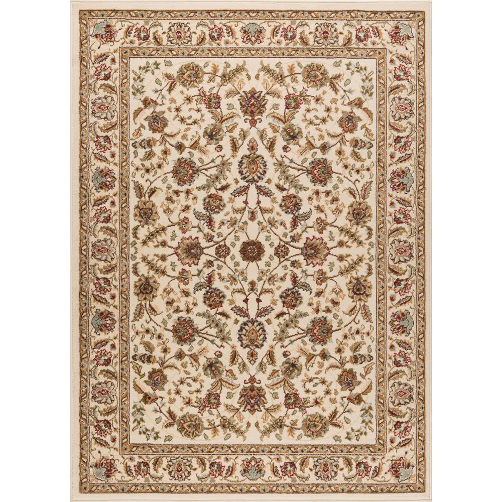 tayse rugs laguna ivory 9 ft 3 in x 12 ft 6 in indoor area rug 5072 ivory 9x13 the home depot. Black Bedroom Furniture Sets. Home Design Ideas