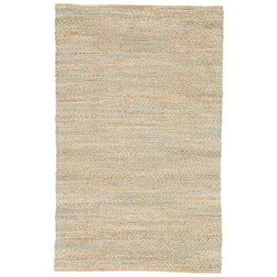 Natural Candied Ginger 4 ft. x 6 ft. Chevrons Area Rug