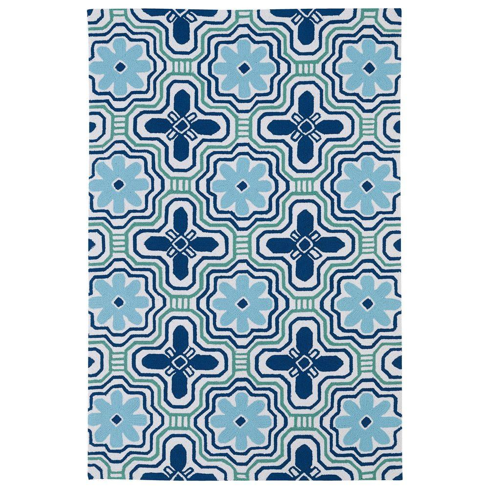 Kaleen Matira Ivory 2 ft. x 3 ft. Indoor/Outdoor Area Rug