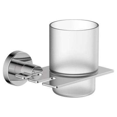 Dia Toothbrush Holder in Chrome