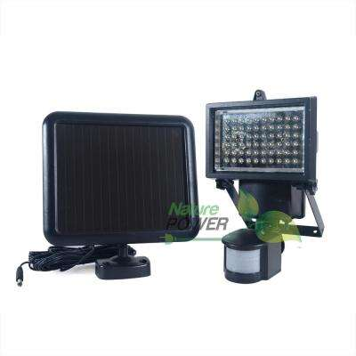 Solar Powered Motion Sensing Outdoor 450 Lumens- 120 Degree Security Light with Advance LED Technology