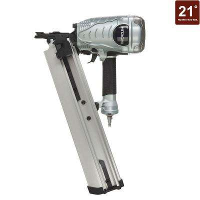 3-1/2 in. 21 Degree Plastic Strip Collated Framing Nailer