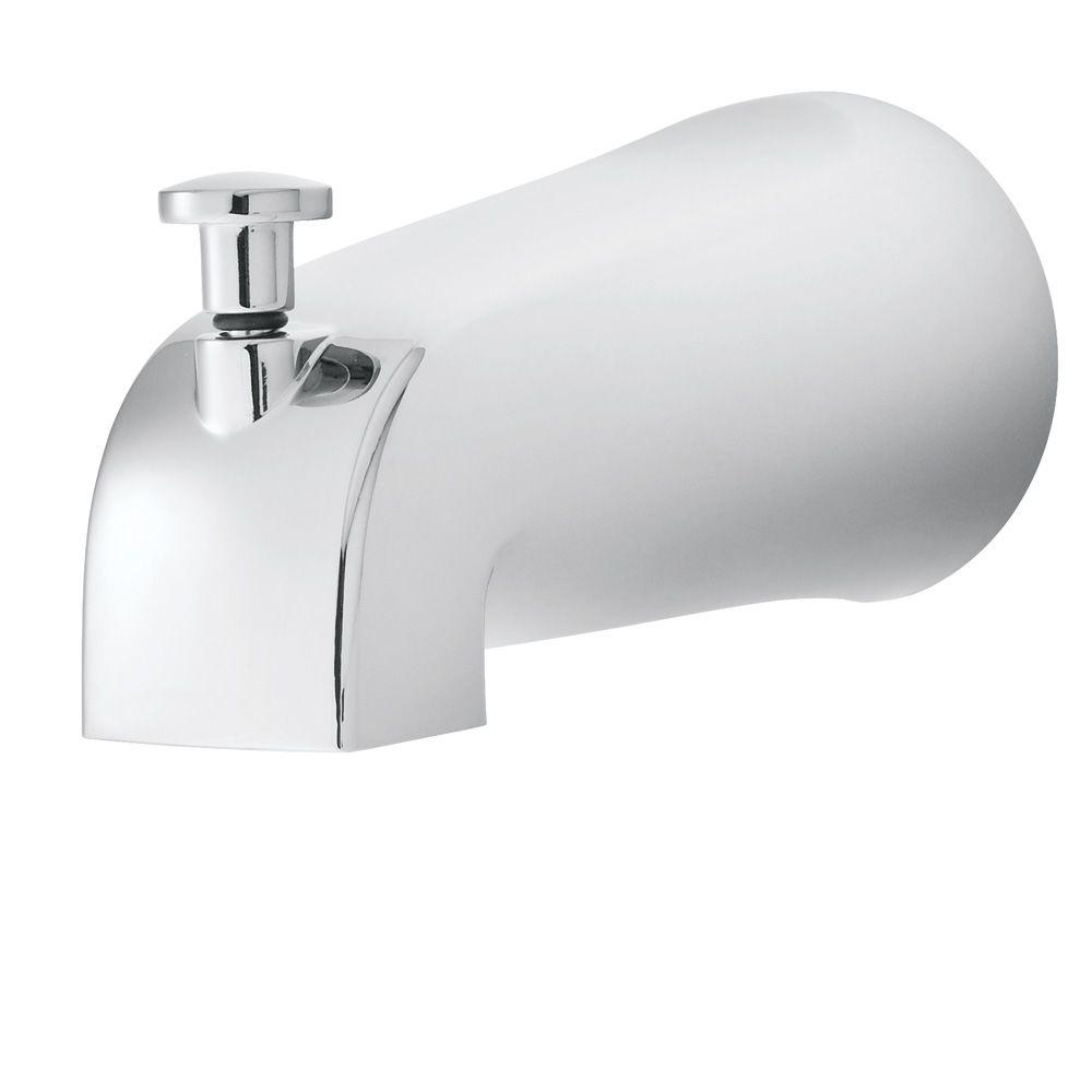 Refresh Diverter Tub Spout in Polished Chrome (Valve and Handles Not