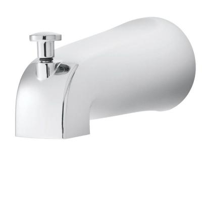 Refresh Diverter Tub Spout in Polished Chrome (Valve and Handles Not Included)