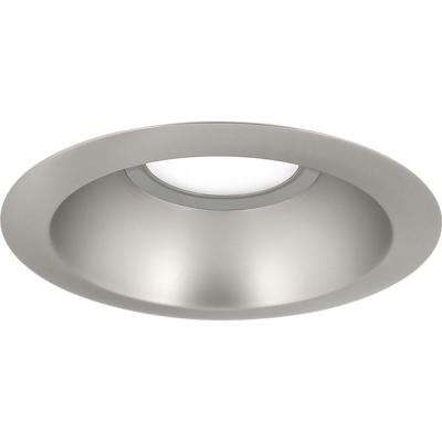 6 in. Brushed Nickel Integrated LED Recessed Trim