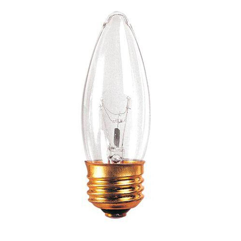 Bulbrite 40-Watt Incandescent Torpedo/B10 Light Bulb (25-Pack)