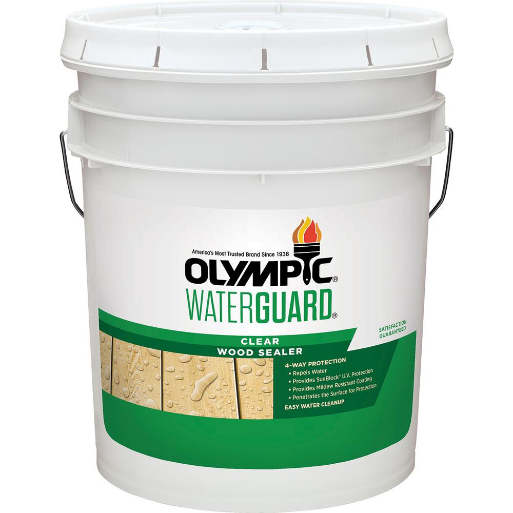 Olympic Waterguard 5 gal. Clear Wood Sealer