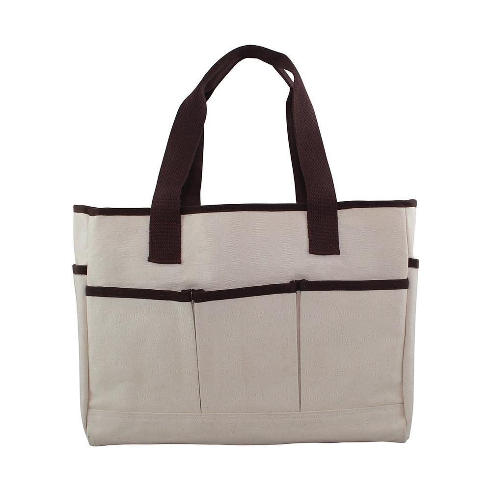 Natural Utility Tote Bag