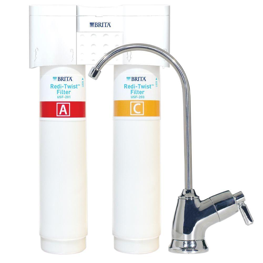 Brita Redi Twist 2 Stage Drinking Water Filtration System