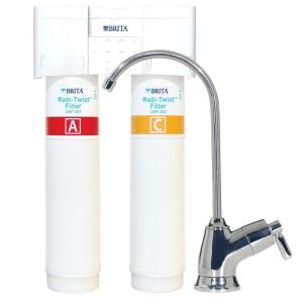 Click here to buy Brita Redi-Twist 2-Stage Drinking Water Filtration System by Brita.