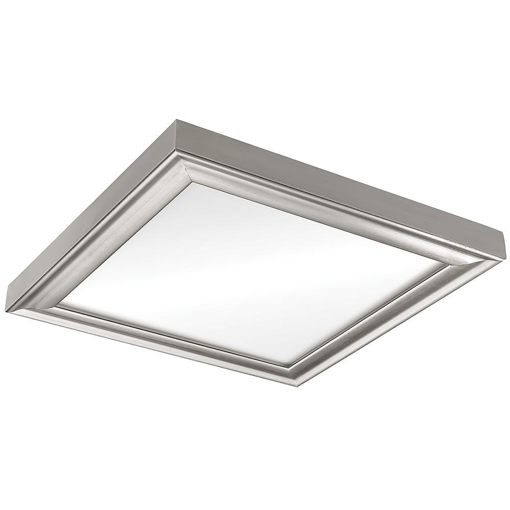 13 in. x13 in. Color Preference 80 Watt Integrated LED Brushed