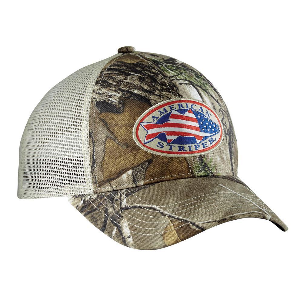 American Striper Camo Trucker Hat