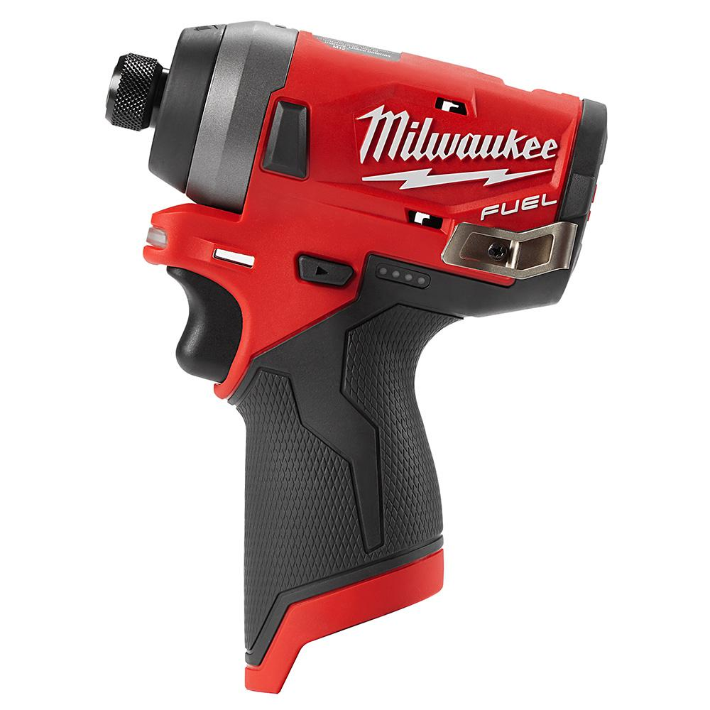 Milwaukee M12 Fuel 12 Volt Lithium Ion Brushless Cordless 1 4 In