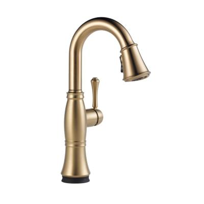 Cassidy Touch Single-Handle Bar Faucet in Lumicoat Champagne Bronze