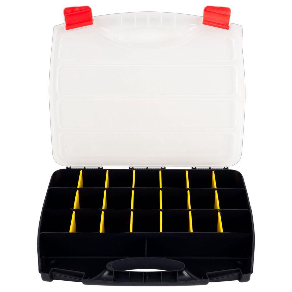 23-Compartment Parts Organizer Box