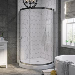 Ove Decors Breeze 38 In X 38 In X 76 In Shower Kit With