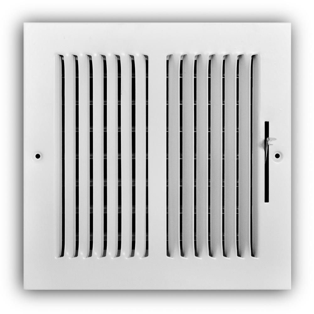 Everbilt 8 in  x 8 in  2-Way Wall/Ceiling Register
