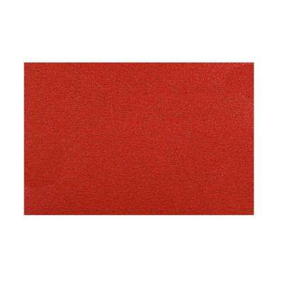 12 in. x 18 in. 120-Grit Sanding Sheet with Stick Fast Backing