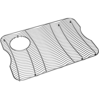 22 in. x 15.75 in. Bottom Grid for Kitchen Sink in Stainless Steel