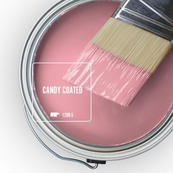 Reviews For Behr Premium Plus 1 Gal 120b 5 Candy Coated Flat Low Odor Interior Paint And Primer In One 140001 The Home Depot
