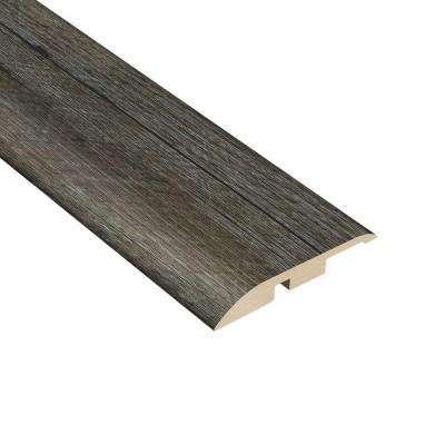 Oak Graphite 1/4 in. Thick x 1-3/4 in. Wide x 94-1/2 in. Length Vinyl Multi-Purpose Reducer Molding