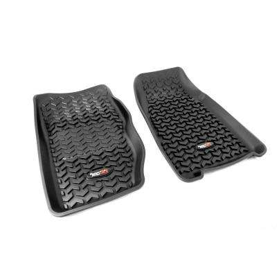 Floor Liner Front Pair Black 1984-2001 Jeep Cherokee XJ
