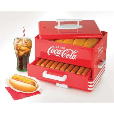 Coca-Cola Hot Dog Steamer