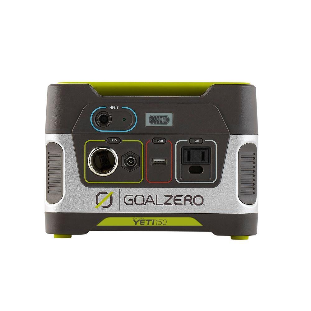 Goal Zero Yeti 150 80 Watt Battery Powered Portable