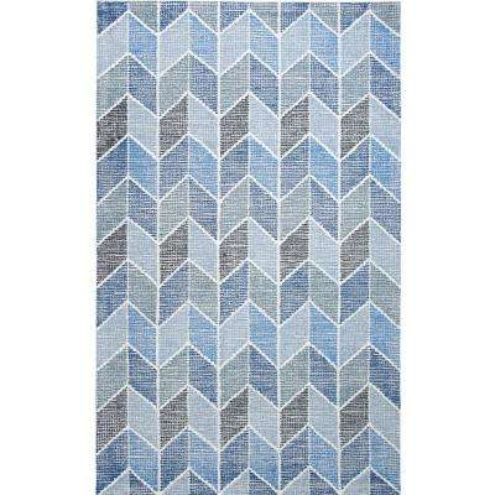 Cinder Blue 2 ft. x 4 ft. Indoor Area Rug
