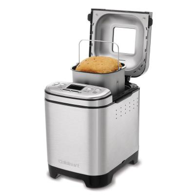 Cuisinart-Automatic 2 lb. Brushed Stainless Steel Bread Maker with Gluten-Free Setting