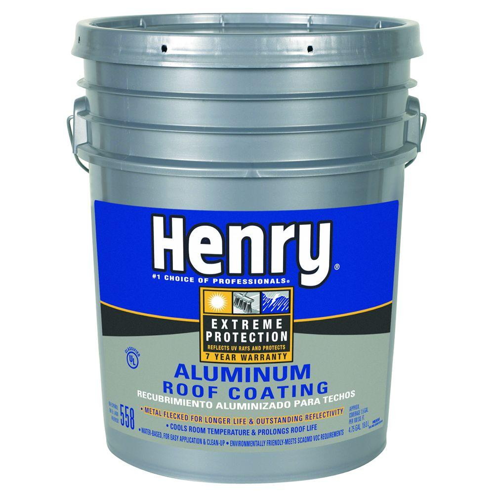 Exceptional 558 Aluminum Roof Coating HE558018   The Home Depot