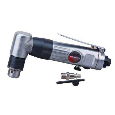 3/8 in. 1500 RPM Reversible Air Pneumatic Angle Drill