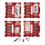 Milwaukee Tool 142-Pc Milwaukee Shockwave Impact Duty Driver Bit Set