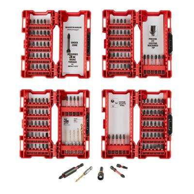 SHOCKWAVE IMPACT DUTY Driver Bit Set (142-Piece)