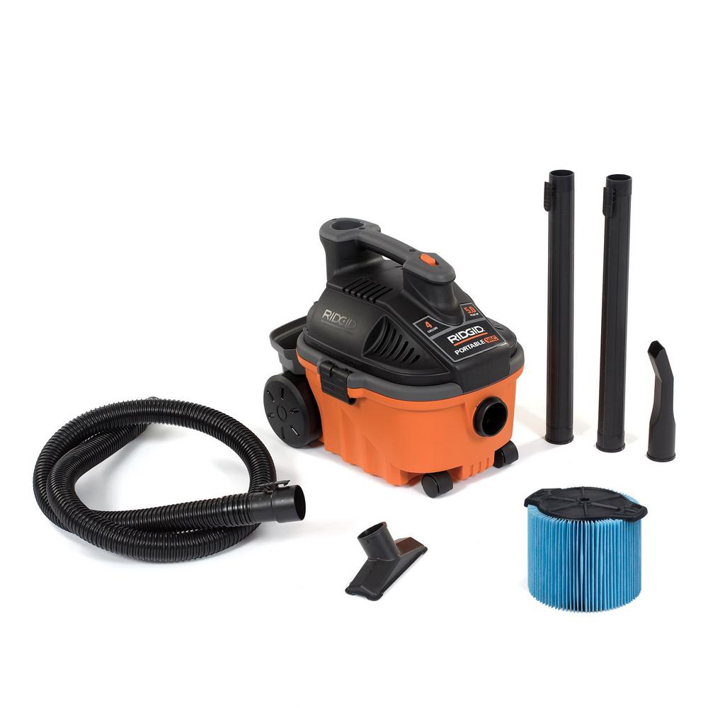 Home Depot Wet Dry Vacuum Cleaners