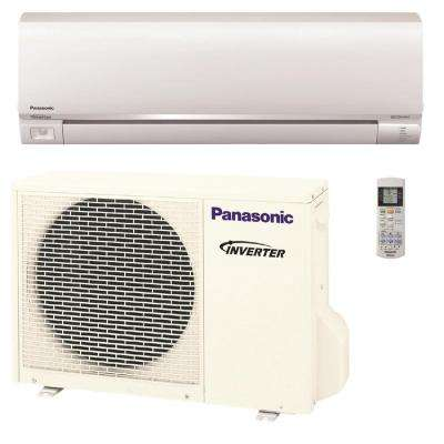 9,000 BTU 3/4 Ton Exterios Ductless Mini Split Air Conditioner with Heat Pump - 208-230V/60Hz